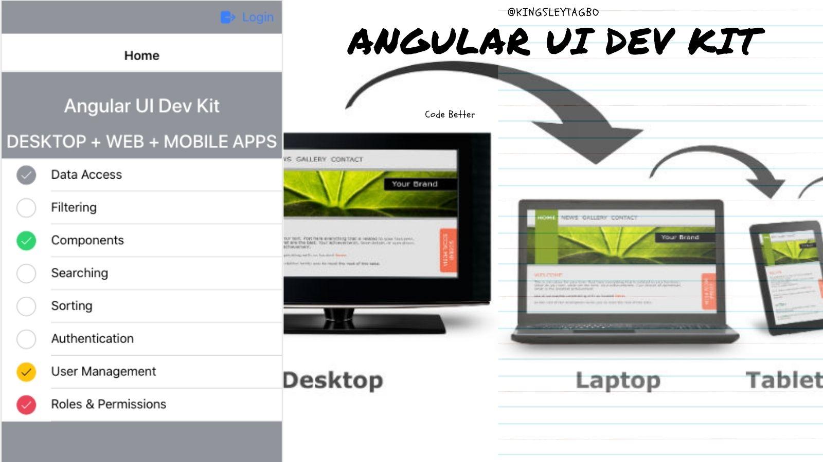 Build Cross Platform Apps in Angular
