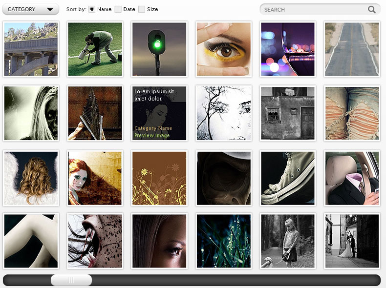 How To Design A Photo Gallery Page