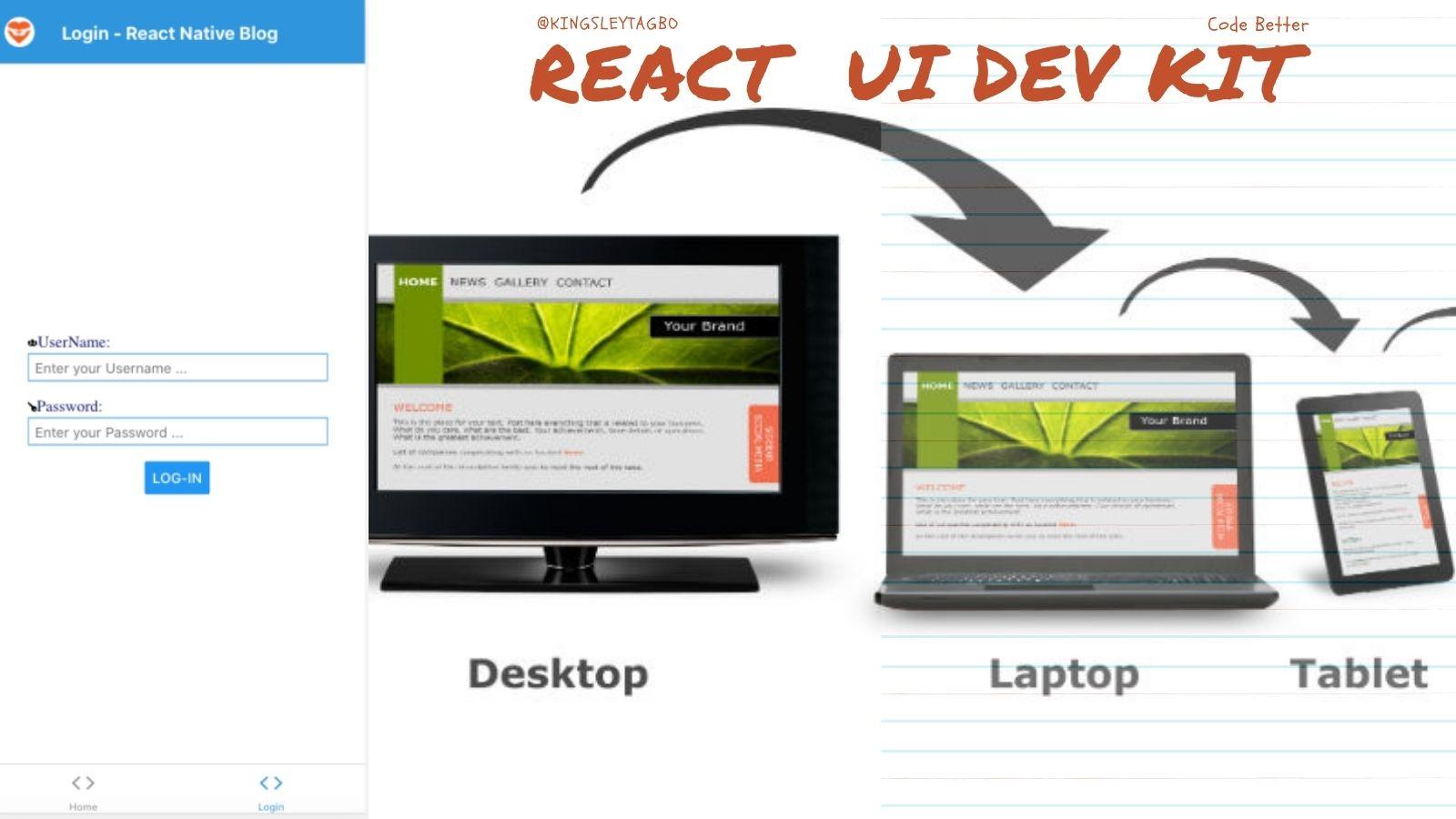 Build Cross-Platform Apps in ReactJS