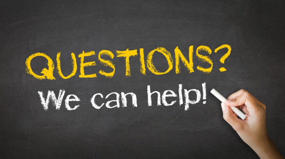 You've Got Questions? We Can Help!